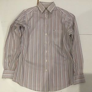 Faconnable Striped Button Down Shirt